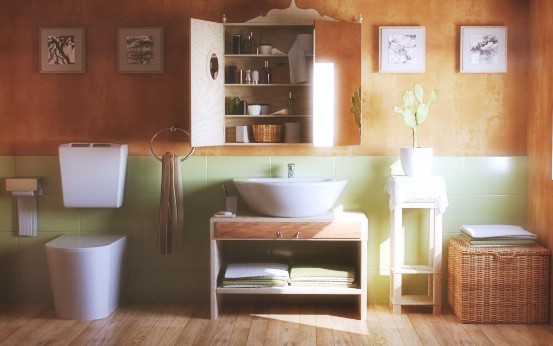 3d visualisierungen - badezimmer von amscenes, Badezimmer ideen