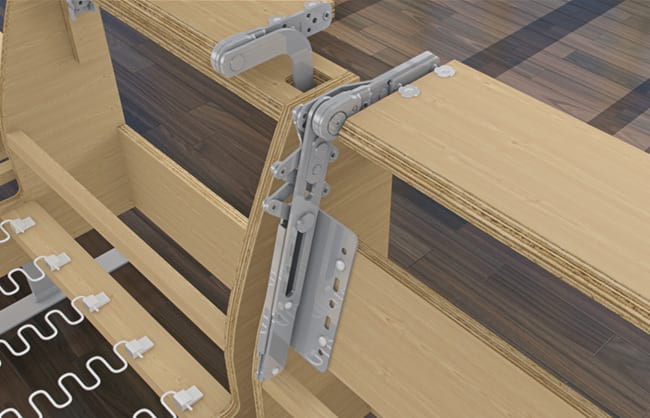 Hettich Variostretch 3D Produktanimation